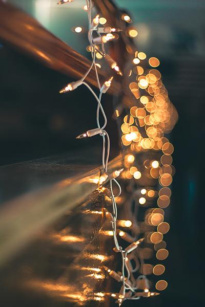 Fotografare luci di Natale
