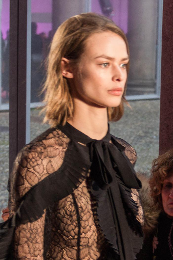 Blumarine fashion show at Milano Fashion week - february 2018