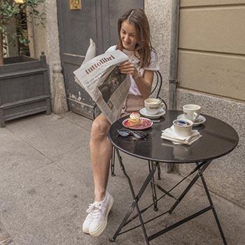 Shooting caffetteria Brera