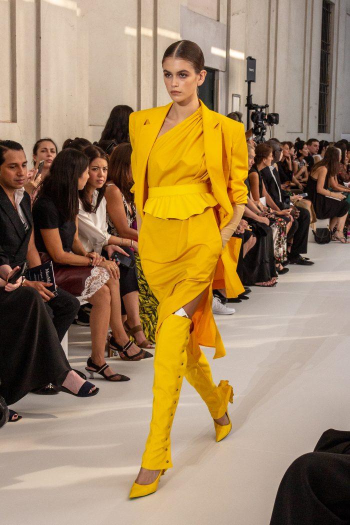 kaia gerber - Sfilata Milano Fashion week