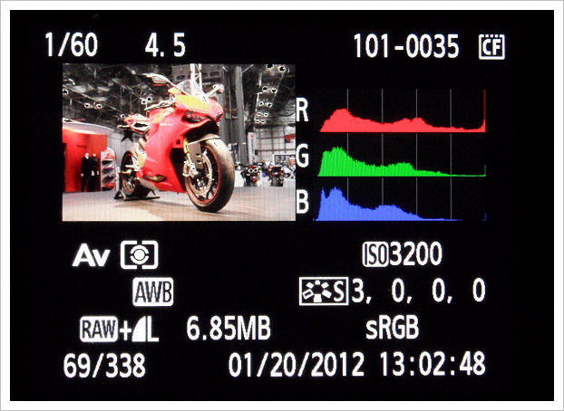 istogramma RGB