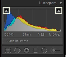 Clipping in Lightroom