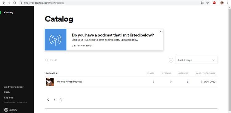 creare un podcast su spotify podcasters