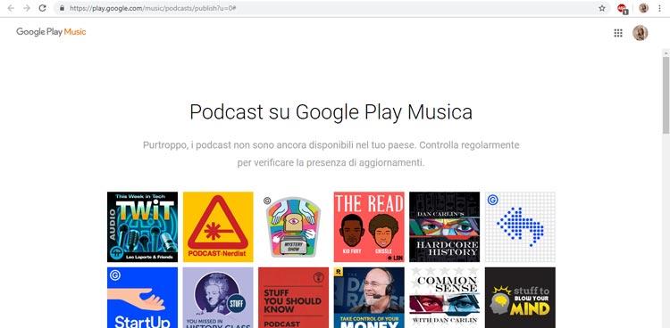 google podcast portal
