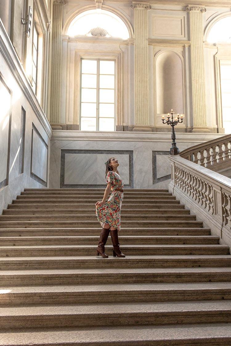shooting moda al palazzo reale di milano