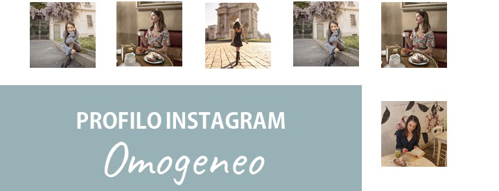 Profilo Instagram omogeneo ebook copertina