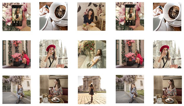 Profilo Instagram Omogeneo