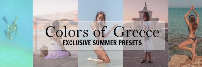 Colors of Greece - Lightroom Preset Pack