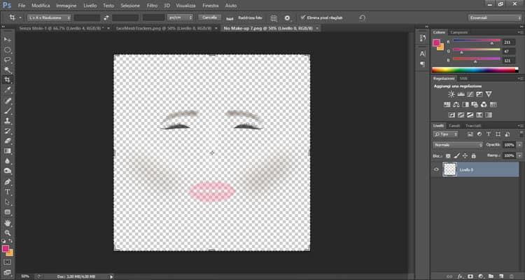 Disegno Make up