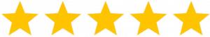 5 stelle recensione
