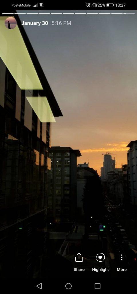 tramonto stazione centrale milano
