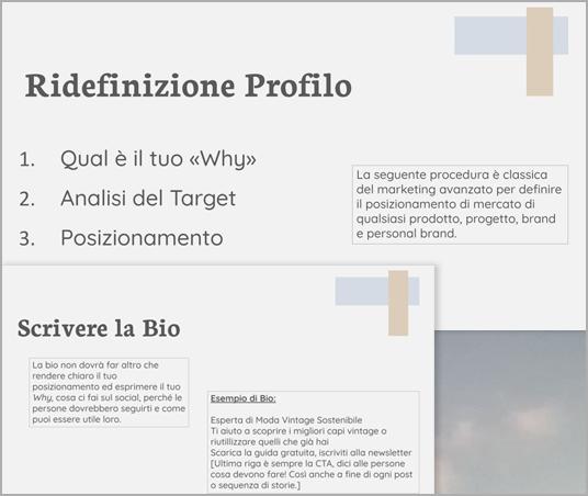 Report Consulenza Instagram IntaYou - Monica Pirozzi